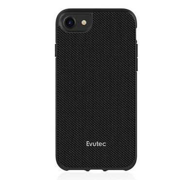 Evutec AERGO Series iPhone 8 Back Cover With Car Mount Black