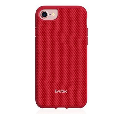 Evutec AERGO Series iPhone 8 Back Cover With Car Mount Red