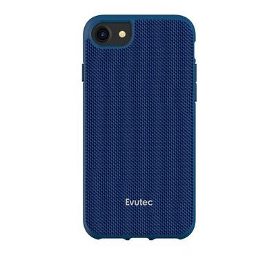 Evutec AERGO Series iPhone 8 Back Cover With Car Mount Blue
