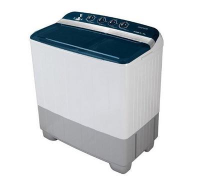 DE 18 Kg Twin Tub Semi Automatic Washing Machine White