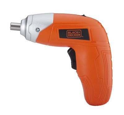 Black Plus Decker 3.6V Ni-CD Screwdriver Orange