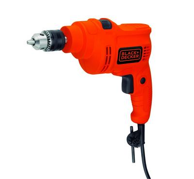 Black plus Decker, Corded Hammer Drill 550W, Orange