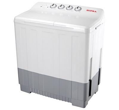 Supra Washing Machine, Semi Automatuic, 18 kg, White