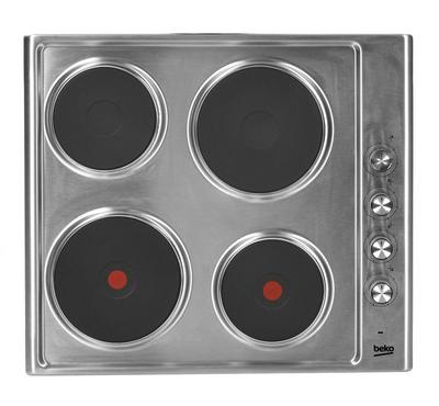 Beko Built In Electric Hobs, 4 Hobs, HotPlates, Stainless Steel