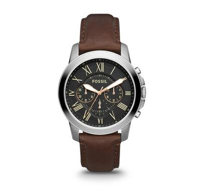 Fossil Men Leather Brown Watch