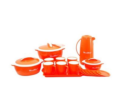 Meenumix BLOSSOM 18pcs Picnic Set Orange
