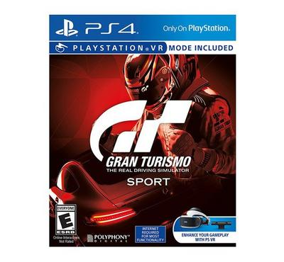 PS4 VR Game Gran Turismo Sport Standard Edition