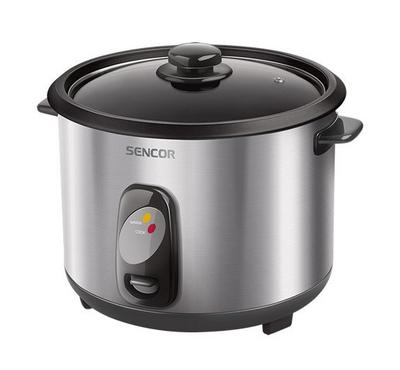 Sencor 2.8L Rice Cooker With Glass Lid 1000W Stainless