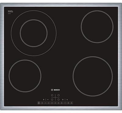 Bosch SERIE 6 60cm Built-in Glass Ceramic Hob 5000W Black