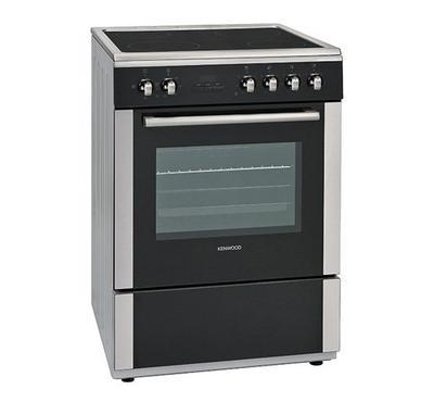 Kenwood 60x60cm Vitroceramic Cooking Range 8500W Silver