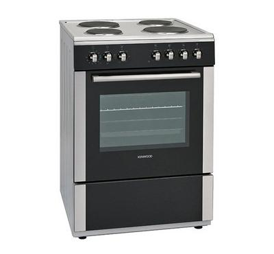 Kenwood 60x60cm Electric Cooking Range Full Safety Silver