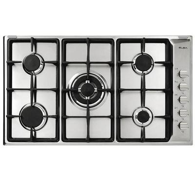Elba PLANUM 90 90cm Built-in Gas Hob Stainless Steel