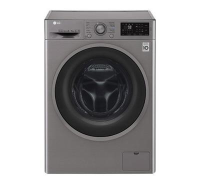 LG Washer 8kg, Dryer 5kg, Front Load, Silver
