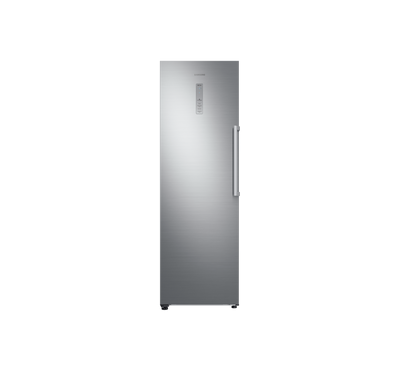 Samsung Freezer, 330 L, Upright, Platinum Inox