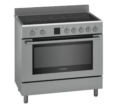 Bosch 90 x 60 Free Standing Electric Cooker 5 Burners