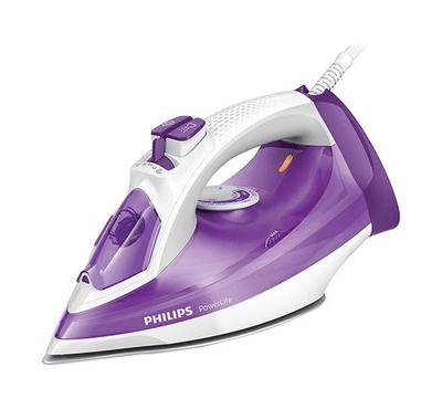 Philips Steam Iron, PowerLife, 2300W, Violet