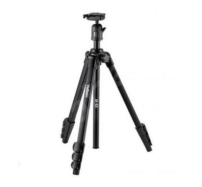 VELBON TRIPOD M43 with ball head for digital and video cameras