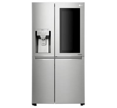 LG Refrigerator, 668 L, SBS, Silver