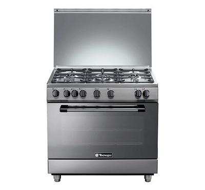 Tecnogas 90x60cm Gas Cooking Range Full Safety Stainless