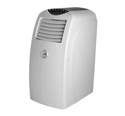 Zenet Portable AC, 1.2 Tons, 14000 BTU Cold, Rotary Compressor, White