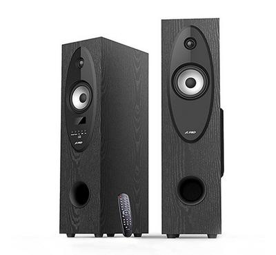 FD 2.0Ch Tall Boy Speaker System 56W RMS Black