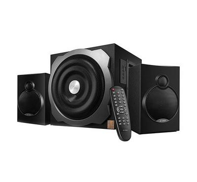 FD 2.1Ch Bluetooth Multimedia Speaker System 52W RMS Black