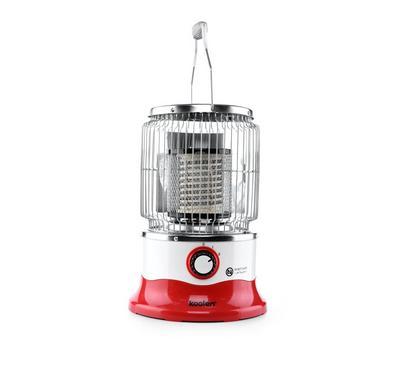 كولين دفاية مدورة 2000 واط مفتاح امان للحماية مستوي درجات الحرارة 2, أبيض/أحمر