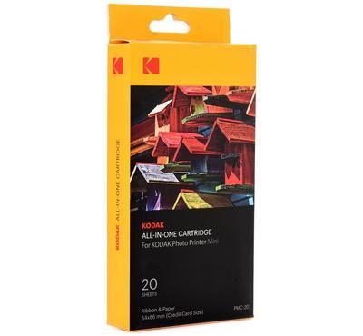 Kodak Mini Photo Printer AIO Sticker Paper Cartridge