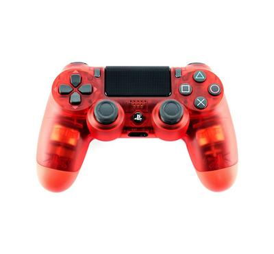 Sony PS4 Controller, red crystal