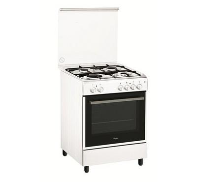 Whirlpool 6TH SENSE 60x60cm Gas Cooking Range Full Safety White