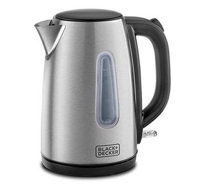Black & Decker 2000W 1.7L Concealed Coil Stainless Steel Kettle