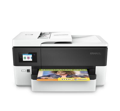 HP OfficeJet Pro 7720 All-in-One Printer - White/Black