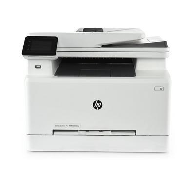 HP MFP Color LaserJet Pro,Print, Copy, Scan, Fax, Wireless, White
