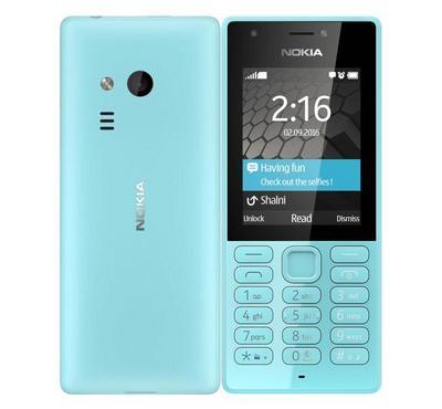 Nokia 216, Dual Sim, 2.5G, 2.4 inch, 16 MB, Blue