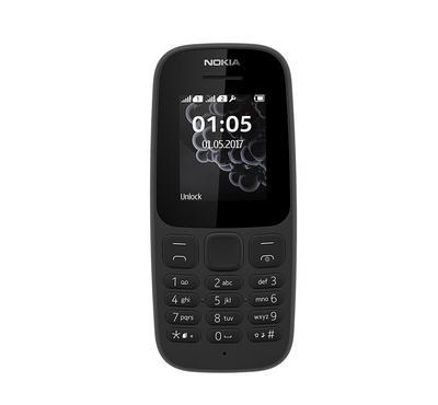 NOKIA 105 (2017), 4 MB, Black