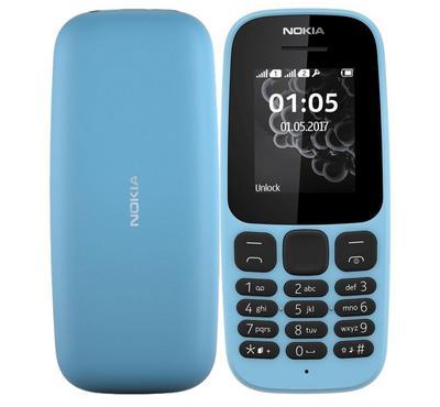 نوكيا 105 (2017)، 4 ميجا، أزرق