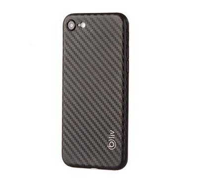Bliv Pp Super Slim 0.3Mm Carbon Design  For  Iph 8   Black
