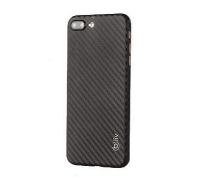 Super Slim 0.3Mm Carbon Design  For  Iph 8+  Black