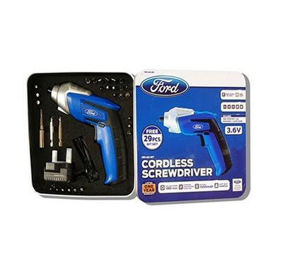 Ford Cordless Screwdriver, Battery 1500mAh