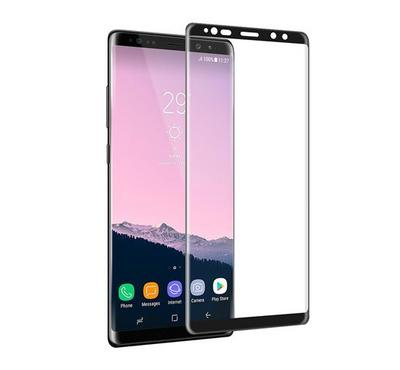 WK Design Galaxy Note 8 Tempered Glass Screen Protector Black/Clear