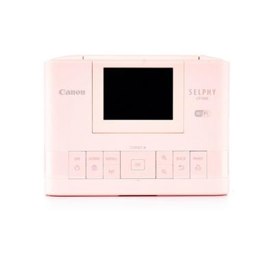 CANON Selphy Printer DPI 300x300, Wifi, SD, USB port, 2.7 Inch LCD, Print Speed 47 Seconds, Pink