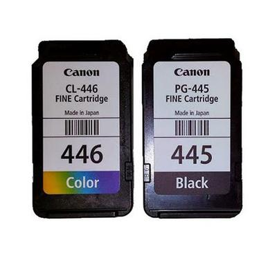 PG 445 Plus CL 446-- Canon Bundle Pack Black and Colour Catridge
