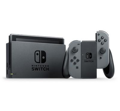 Nintendo Switch, Console With Grey Joycon