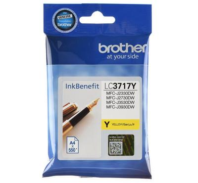 BROTHER Yellow Ink Cartridge For Brother Printer, yield is 550 Pages
