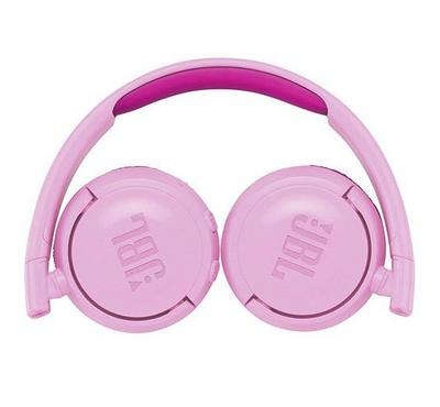 JBL JR JR300BT Kids Wireless On-ear Stereo Headphones Pink