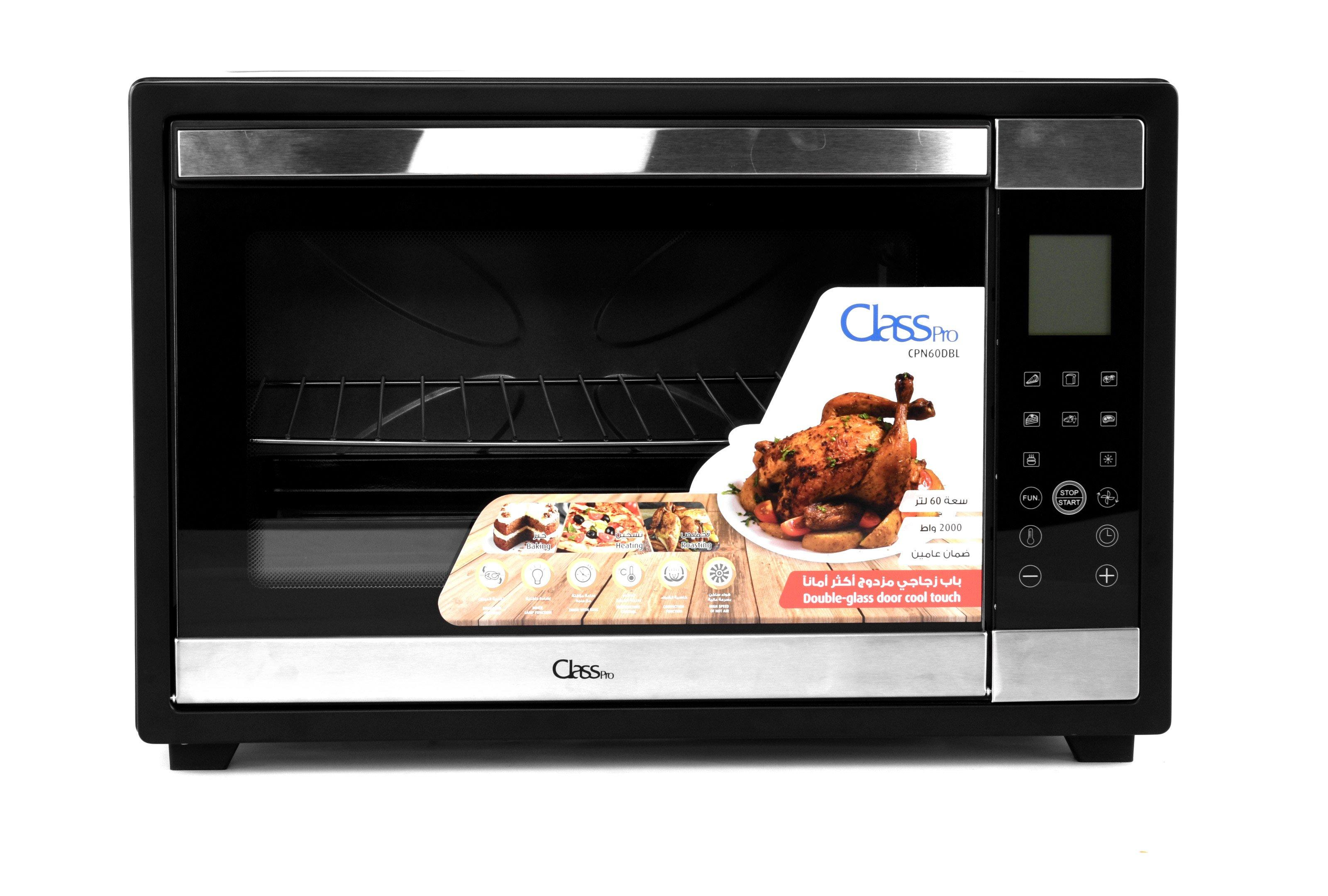 ClassPro, Electric Oven, 60L, Stainless Steel