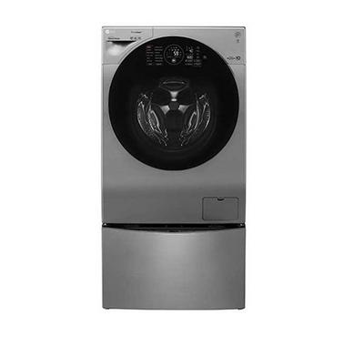 LG Washer 10.5kg, Dryer 7kg with TrueSteam, 1400 RPM Superior, SIlver