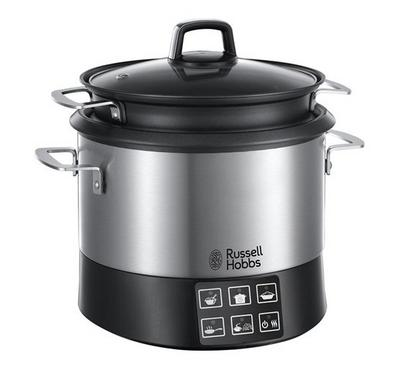 Russell Hobbs 4.5L All-in-One Cookpot/Slow Cooker Stainless