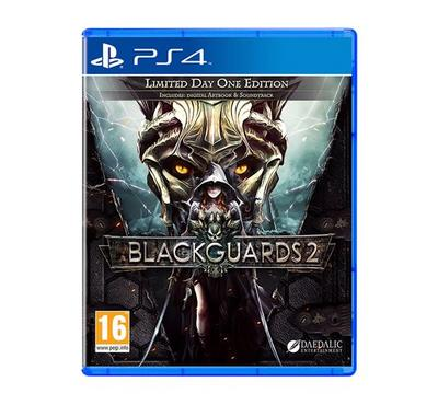 PS4 Game Blackguards 2 -Limited Day One Edition