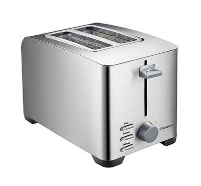 Westinghouse 2s Slice Toaster 850W Stainless Steel